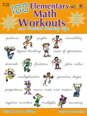 cover image of 100 Elementary Math Workouts