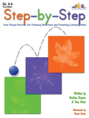 cover image of Step-by-Step - Grades 3-4