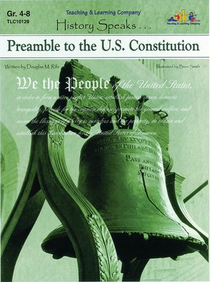 cover image of Preamble to the U.S. Constitution