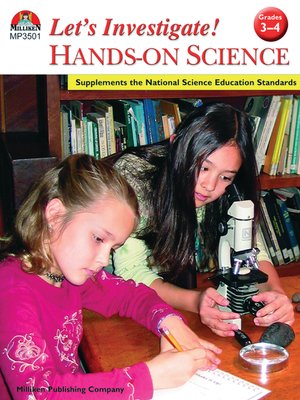 cover image of Let's Investigate! Hands-On Science - Grades 3-4