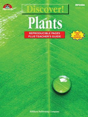 cover image of Discover! Plants