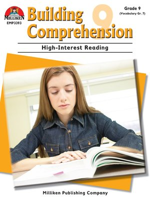 cover image of Building Comprehension - Grade 9