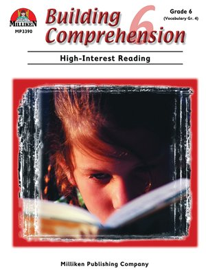 cover image of Building Comprehension - Grade 6