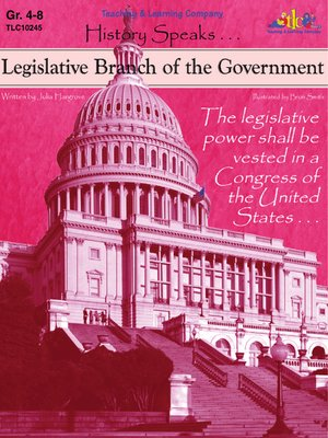 cover image of Legislative Branch of the Government
