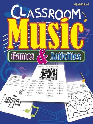 cover image of Classroom Music Games and Activities