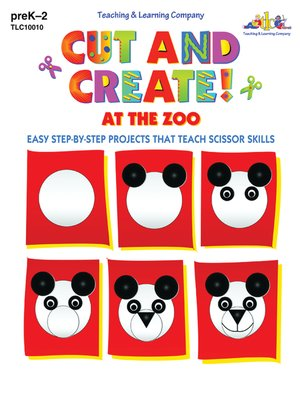 cover image of Cut and Create! At the Zoo
