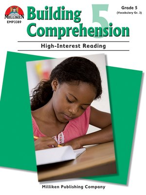 cover image of Building Comprehension - Grade 5