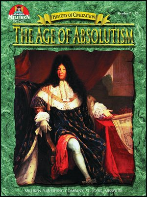 cover image of The Age of Absolutism