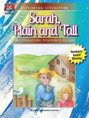 cover image of Sarah, Plain & Tall
