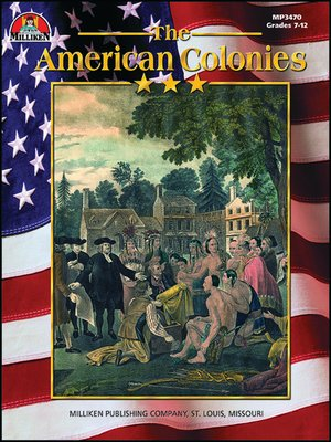 cover image of American Colonies