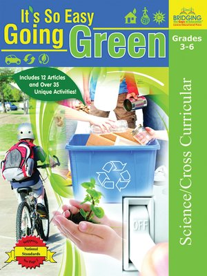 cover image of It's So Easy Going Green