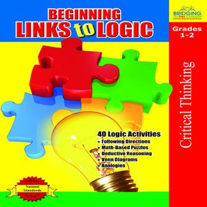 cover image of Beginning Links to Logic - Grades 1-2