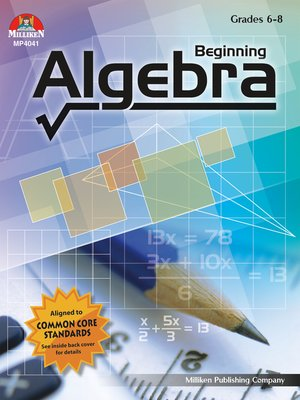 cover image of Beginning Algebra