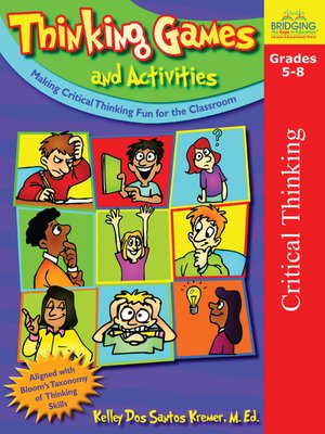 cover image of Thinking Games and Activities