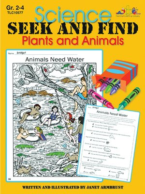 cover image of Science Seek and Find Plants and Animals