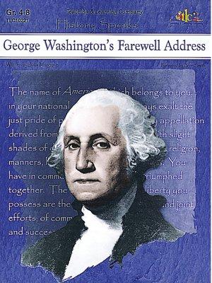 cover image of George Washington's Farewell Address