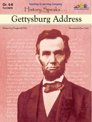 cover image of Gettysburg Address