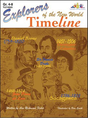 cover image of Explorers of the New World Time Line