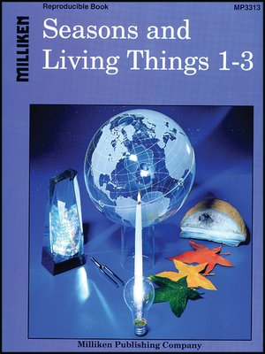 cover image of Seasons and Living Things