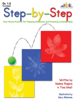 cover image of Step-by-Step - Grades 1-2
