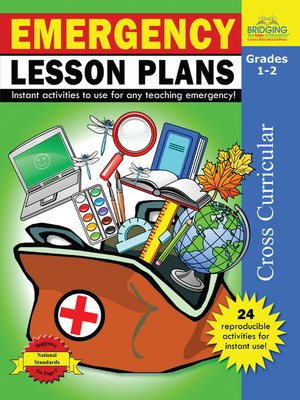 cover image of Emergency Lesson Plans - Grades 1-2