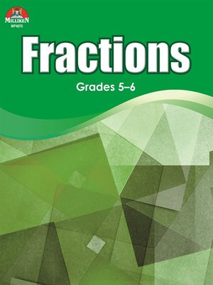 cover image of Fractions - Advanced