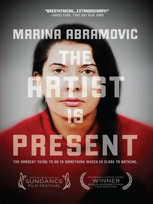 cover image of Marina Abramovic The Artist is Present