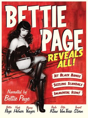 cover image of Bettie Page Reveals All