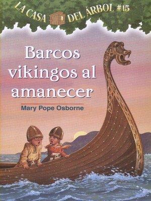 cover image of Barcos vikingos al amanecer