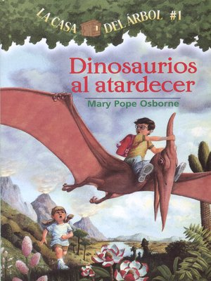 cover image of Dinosaurios al atardecer