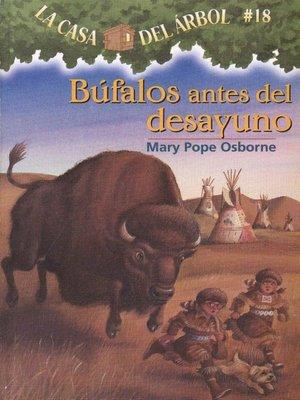 cover image of Búfalos antes del desayuno