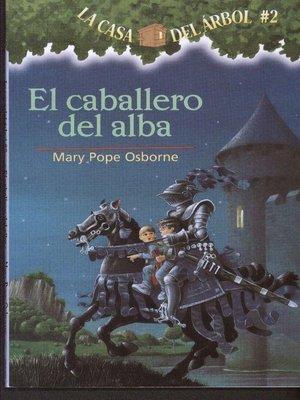 cover image of El caballero del alba