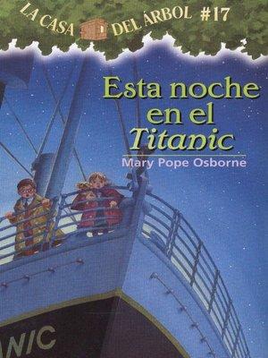 cover image of Esta noche en el Titanic
