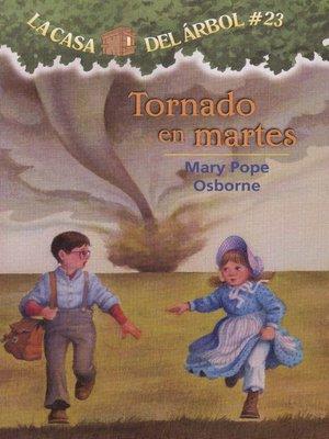 cover image of Tornado en martes