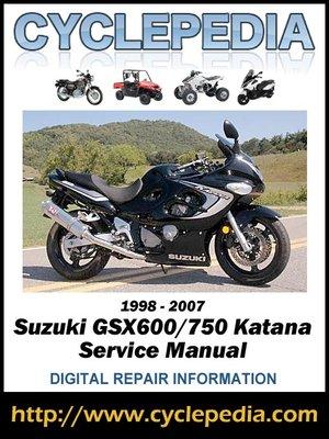 cover image of Suzuki GSX600/750 Katana 1998-2007 Service Manual