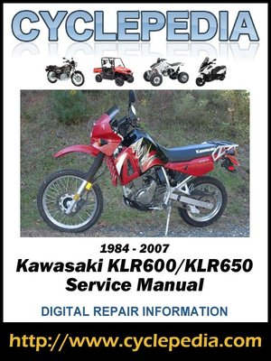 2006 kawasaki klx250 service manual