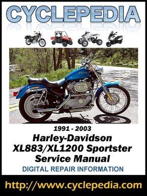 cover image of Harley-Davidson XLH883/XLH1200 Sportster 1991-2003 Service Manual