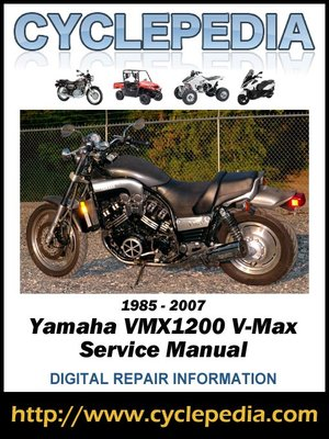 cover image of Yamaha VMX1200 V-Max 1985-2007 Service Manual