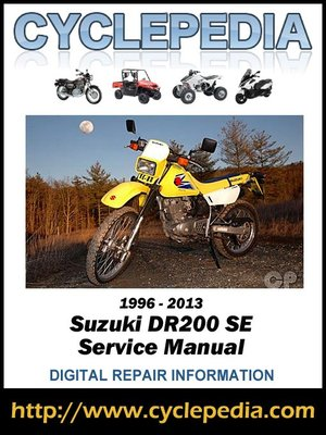 %7B5A2F8358 0BFB 4384 B992 626124BE8D02%7DImg400 suzuki dr200se 1996 2013 service manual by cyclepedia press llc Suzuki Wire at honlapkeszites.co