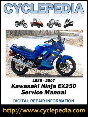 cover image of Kawasaki Ninja EX250 1986-2007 Service Manual