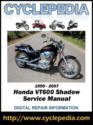 honda shadow 400 manual pdf