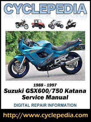 cover image of Suzuki GSX600/750 Katana 1988-1997 Service Manual
