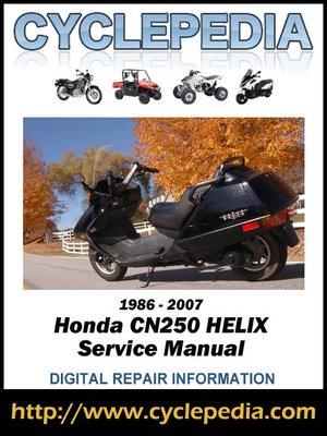 cover image of Honda CN250 Helix 1986-2007 Service Manual