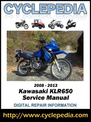 Kawasaki Klr650 20082013 Service Manual By Cyclepedia Press Llc. Kawasaki Klr650 20082013 Service Manual. Kawasaki. 2006 Kawasaki Klr 650 Wiring Diagram At Scoala.co