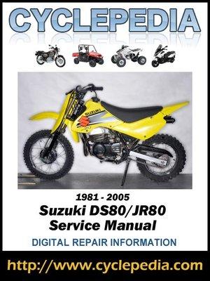 cover image of Suzuki DS80/JR80 1981-2005 Service Manual