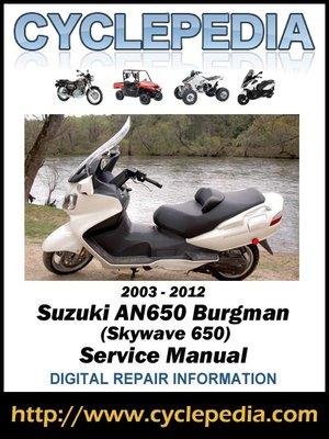 manual suzuki burgman 650 executive