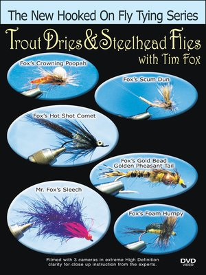 cover image of Trout Dries & Steelhead Flies