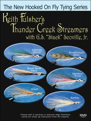 cover image of Keith Fulsher's Thunder Creek (Baitfish) Streamers