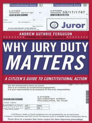 cover image of Why Jury Duty Matters