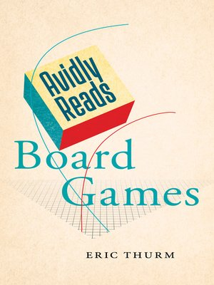 cover image of Avidly Reads Board Games